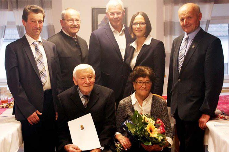 Eiserne Hochzeit, Knapp-Hermine+Karl