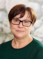 Reinigungskraft Irene Schimany