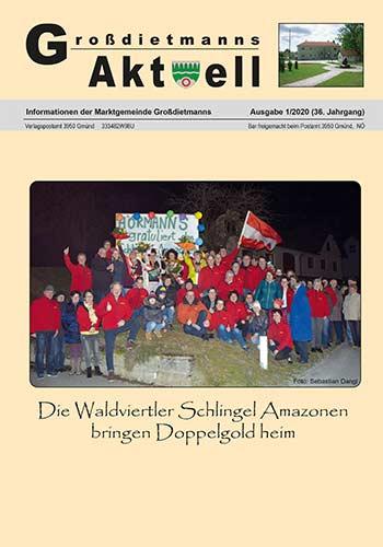 Cover Gemeindezeitung