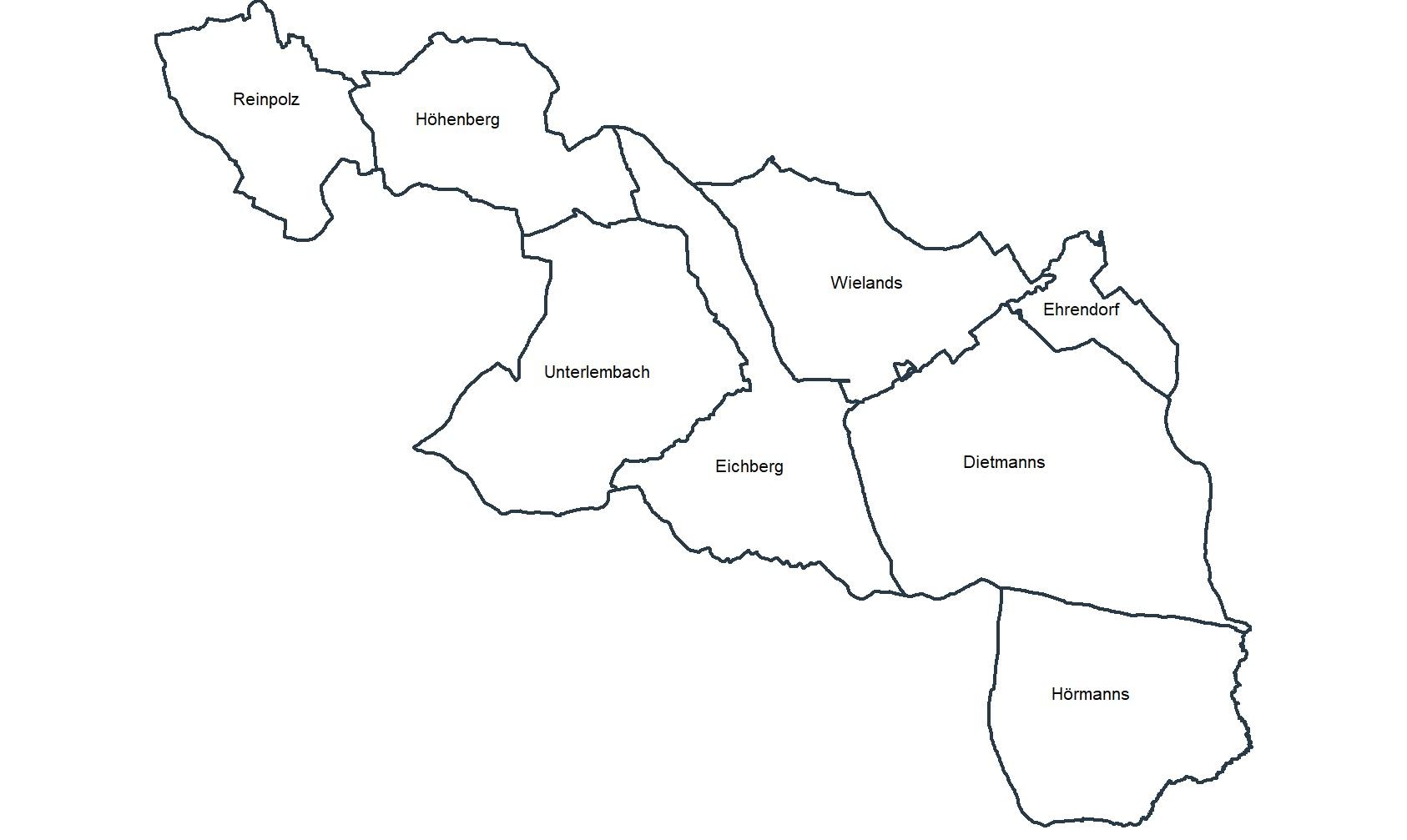 Gemeindegebiet Großdietmanns