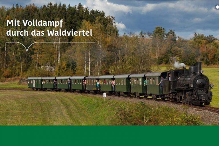 Imagefoto Waldviertelbahn